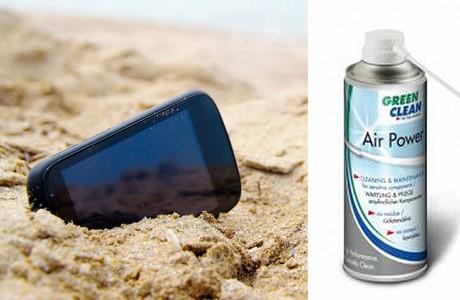 Telefondan Kum, Pislik, Toz ve Suyu Nasıl Temizlersiniz?