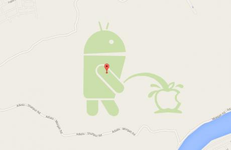 Bak sen şu Android'in Apple ' a yaptığına!