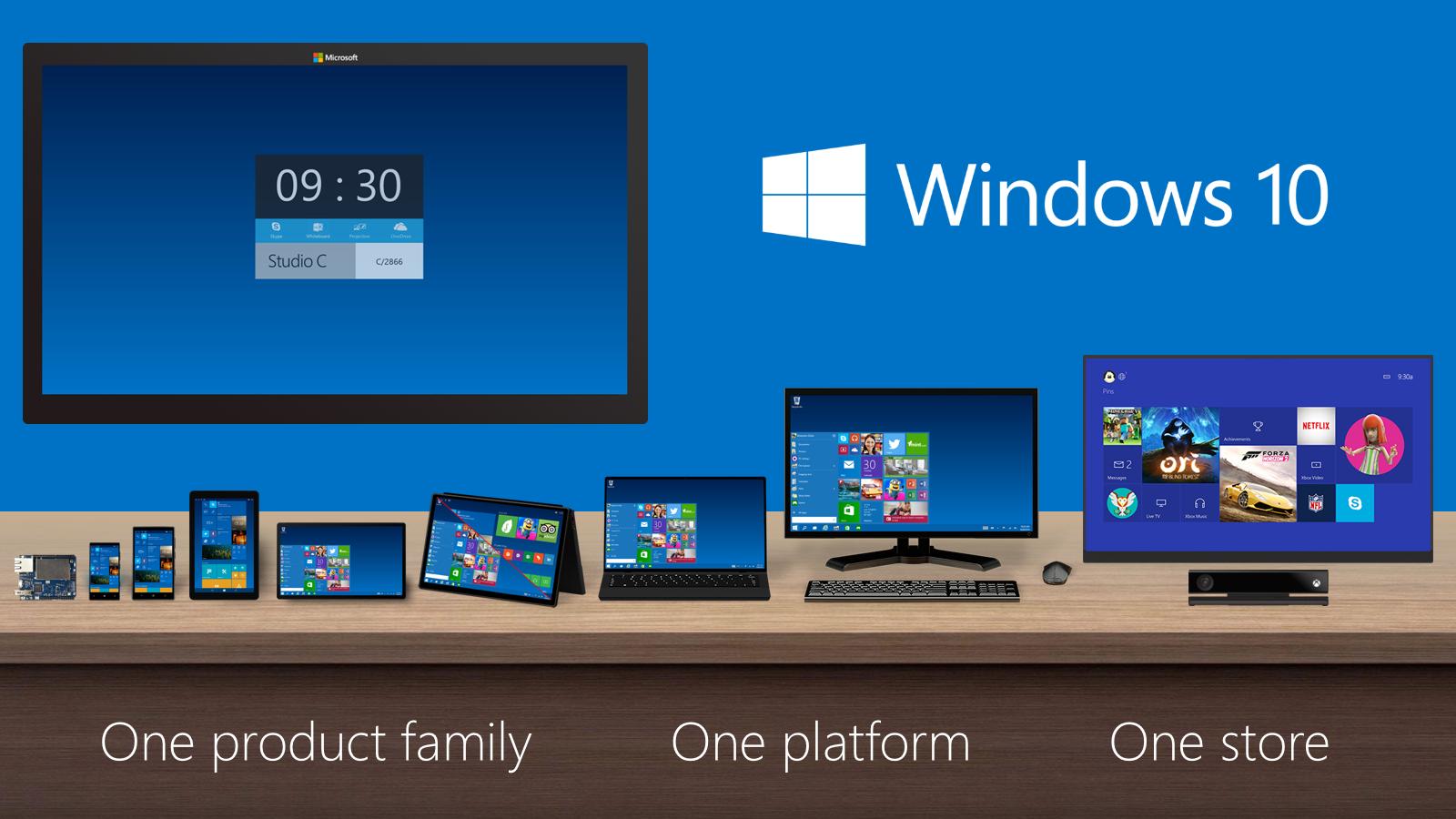 Windows 10 Temmuz sonunda geliyor!