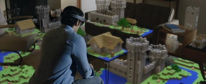 HoloLens, Unity Oyun Motoru ile Oyunlarda yer almaya başlıyor