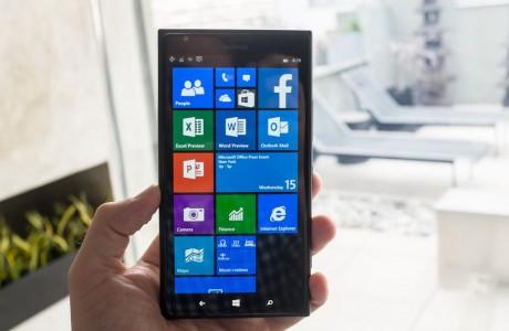Windows 10'un telefon sürümündeki Word!