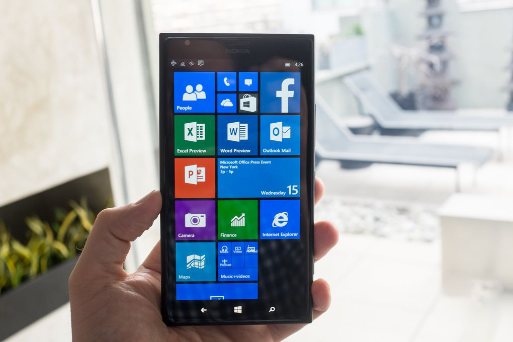 Windows 10'un telefon sürümündeki Word!