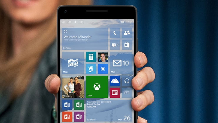 Windows 10 Mobile Teknik Önizleme 10080