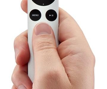 Apple Tv Uzaktan Kumandasına Touch Pad Özelliği Geliyor!