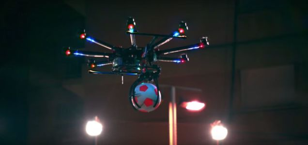 Drone Futbol Mu! Ya Sizce?