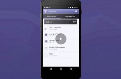 Instashare ile iOS ve Android cihazlar arasında dosya paylaşabilirsiniz