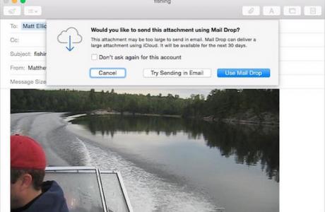 OS X Mail Drop Minimum Dosya Boyutu Sınırlaması Nasıl Değiştirilir?