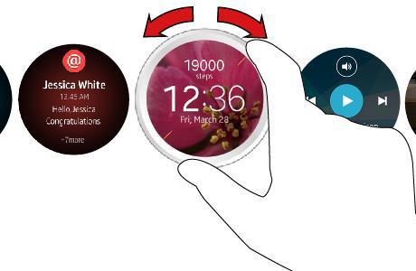Samsung Round Gear SmartWatch Geliyor!