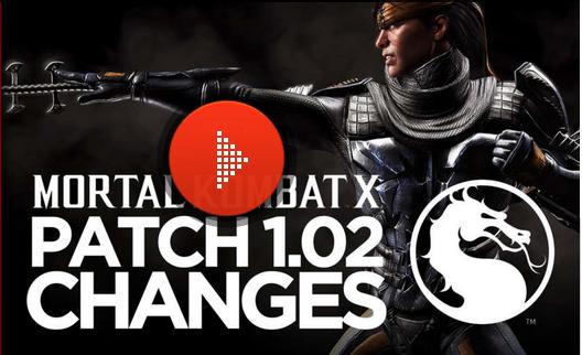 Mortal Kombat X Güncelleme 1.02 Yayınlandı!