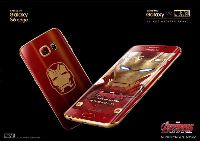 Karşınızda Samsung S6 Edge İron Man Edition !