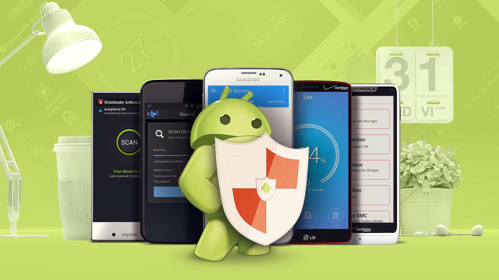 Android için Ücretsiz Anti-Virüs Programları 2015 !