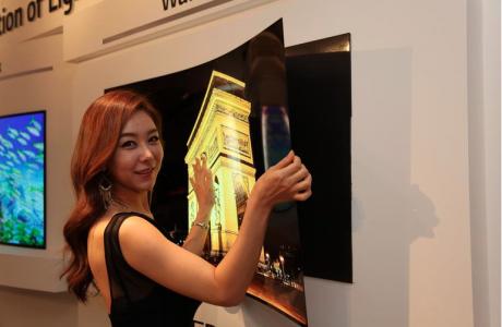 LG 'den Yeni 1mm Duvar Kağıdı TV !