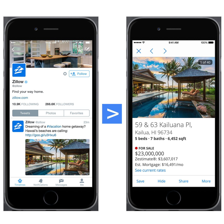 Google Derin Linkler Direkt iOS ve Anroid Uygulamalarını Açabilecek.