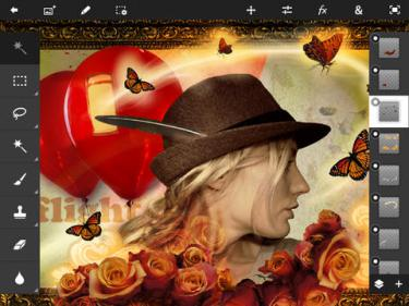 Artık Adobe Project Rigel Var !  Photoshop Touch Sona Erdi!