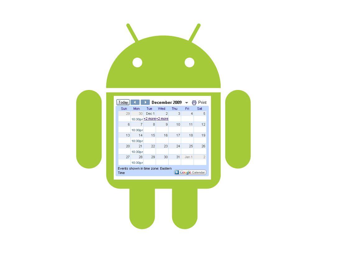 Android için en iyi  7 Takvim Uygulaması!
