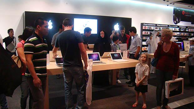 Dünyanın En Büyük Apple Mağazası Dubai'de Açıldı!