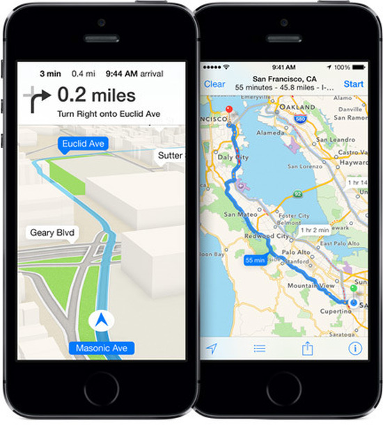 Apple GPS  : Coherent Navigation 'ı Satın Aldı.