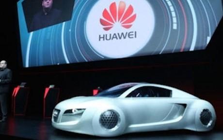 Audi Huawei ile işbirliğine gitti!