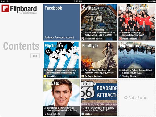 Twitter'dan sonra Google ve Yahoo da Flipboard'u satın almak istiyor