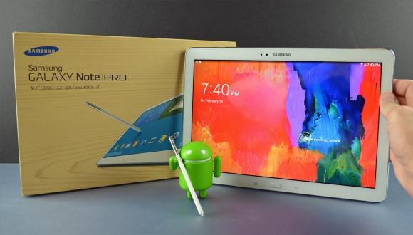 Galaxy Note Pro 12.2 İçin Lollipop Çıktı