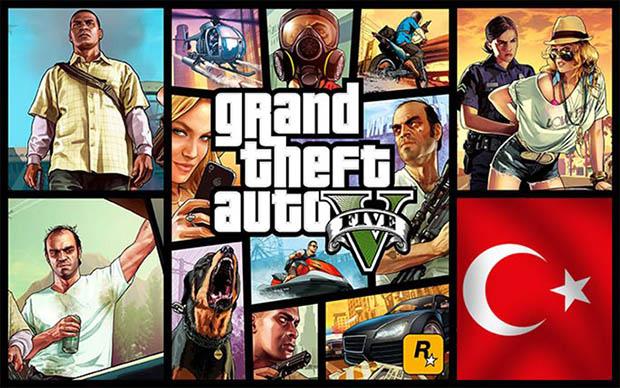GTA 5 Türkçe Yama Çıktı!