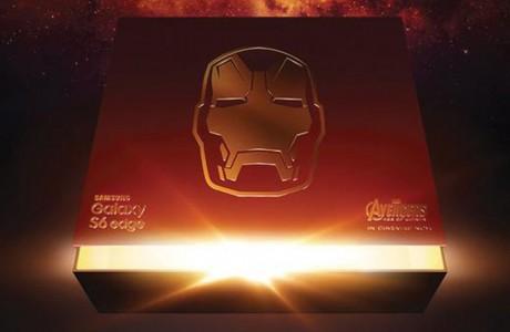 Samsung Galaxy S6 Edge Iron Man Edition!
