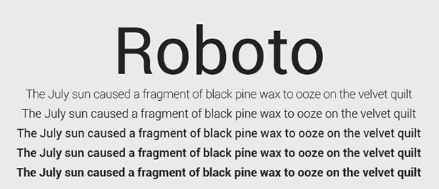 Roboto: Google'ın dünyaya son hediyesi!