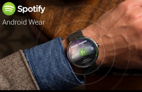 Spotify Android Wear'a Geliyor!
