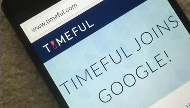 Timeful'u Google Satın Aldı