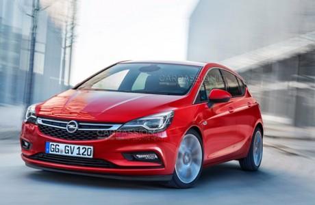 Yeni Opel Astra 2016 ilk Görüntüleri !