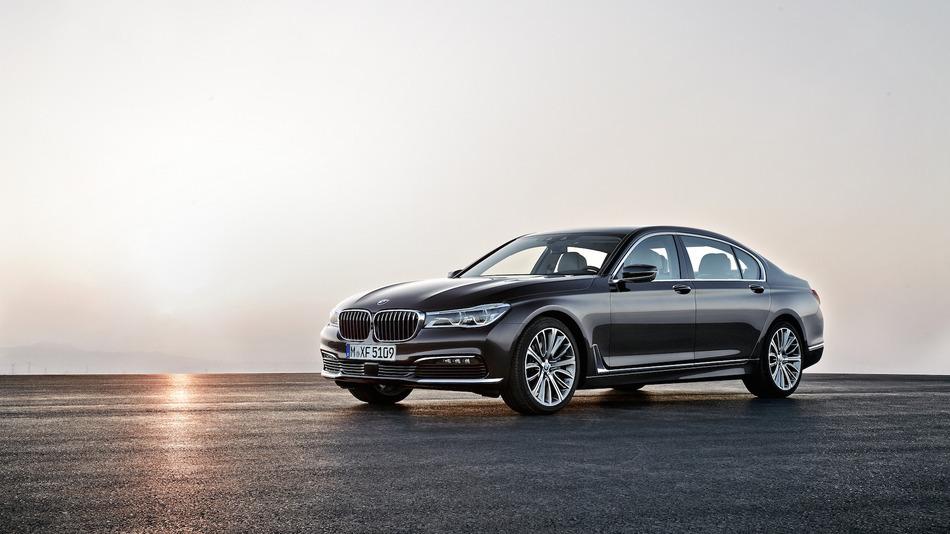 2016 BMW yeni 7 Serisi Resimleri Burada ! Geleceğin lüks arabası !