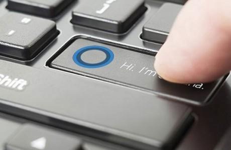 Laptop'larında Cortana Düğmesi Olacak!