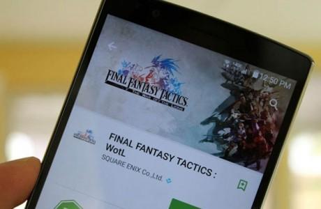 Final Fantasy Tactics Google Play'de Yayınlandı