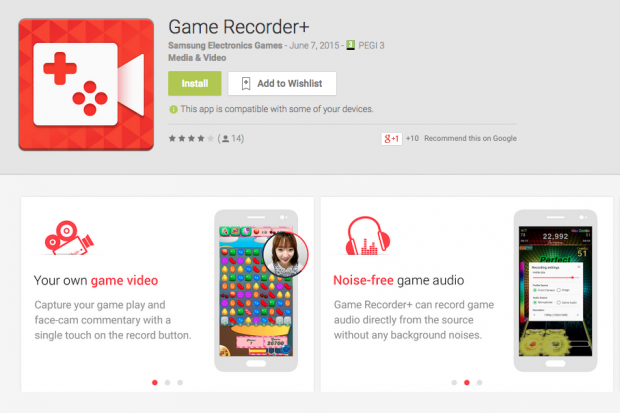 Game Recorders