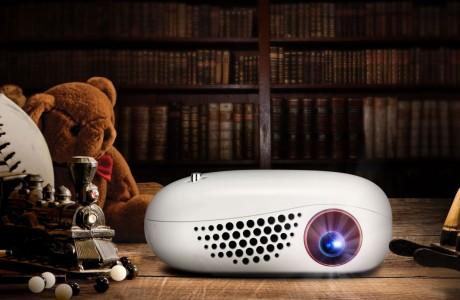 Cüzdan Boyutunda Kablosuz Projektör ! LG Minibeam Nano !