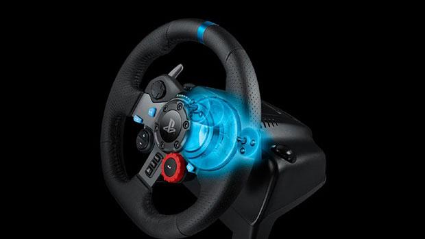 PS4 İçin Yeni Direksiyon: Logitech G29