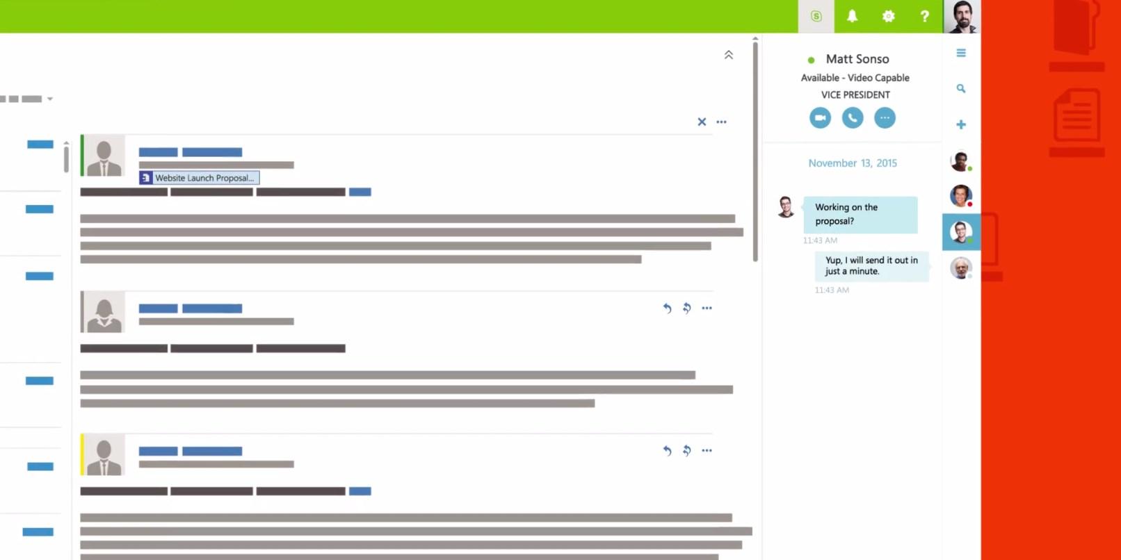 Office 365 Üretkenlik Paketi Güncellendi! Skype Entegrasyonu Geldi.
