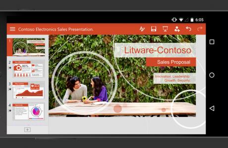Microsoft'un yeni Word, Excel ve PowerPoint Android Uygulamaları !