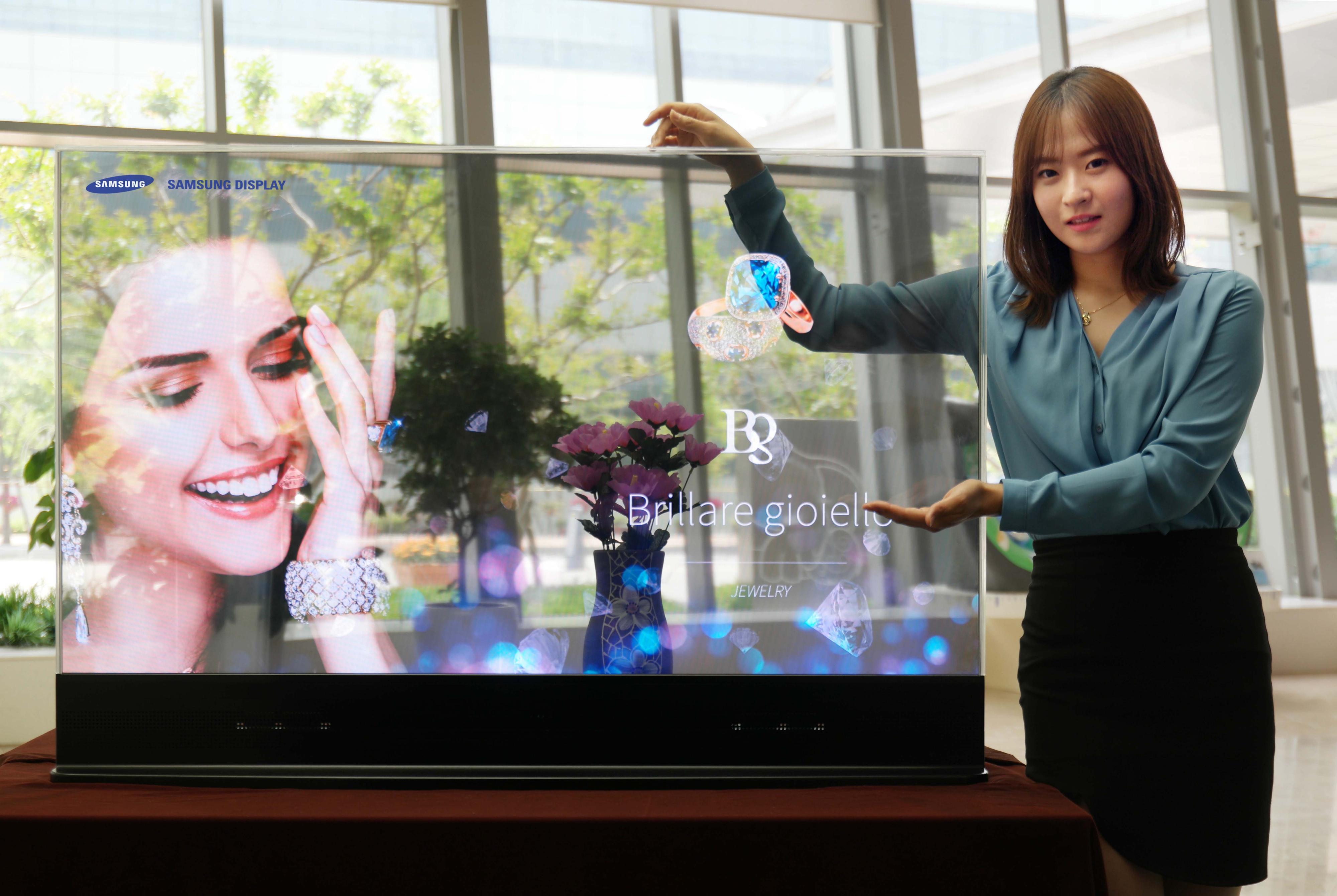 Samsung Ayna ve Saydam Ekran OLED Tv Duyurdu!