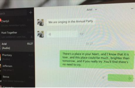 WeChat Windows uygulaması şimdi İngilizce konuşuyor !