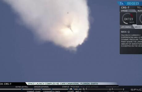 Spacex Falcon 9 Roketi Uzaya Gönderildikten 2 Dk. Sonra Patladı