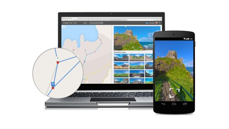 Street View İçin 360 Derece Kamera Desteği