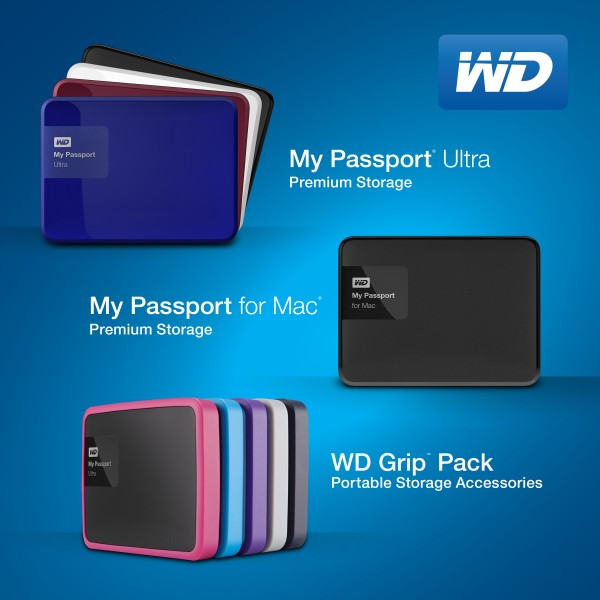 WD My Passport - WD Grip Pack