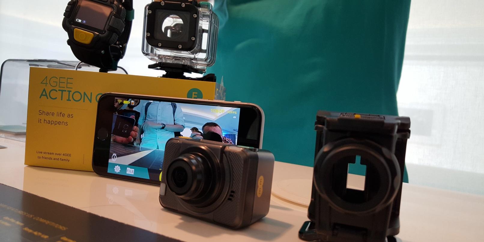 EE 4G Aksiyon Kamera Duyurdu! GoPro Gibi.