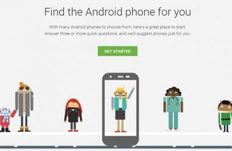 Google Android Telefonunuzu Sizin İçin Seçsin!