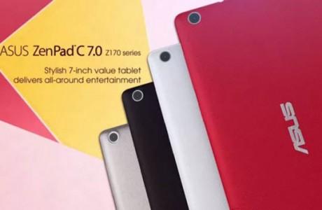 Yeni Bir Model Asus ZenPad C 7.0