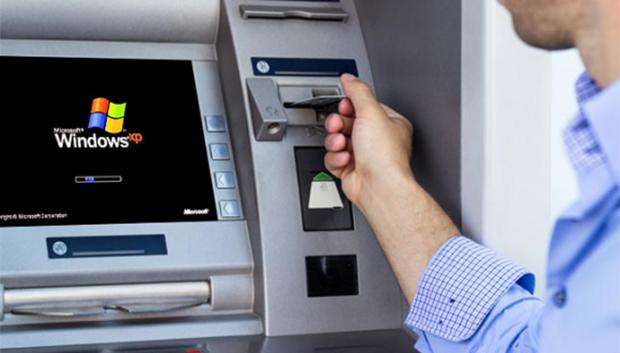 Bankamatikler Windows 10'a Geçiyor