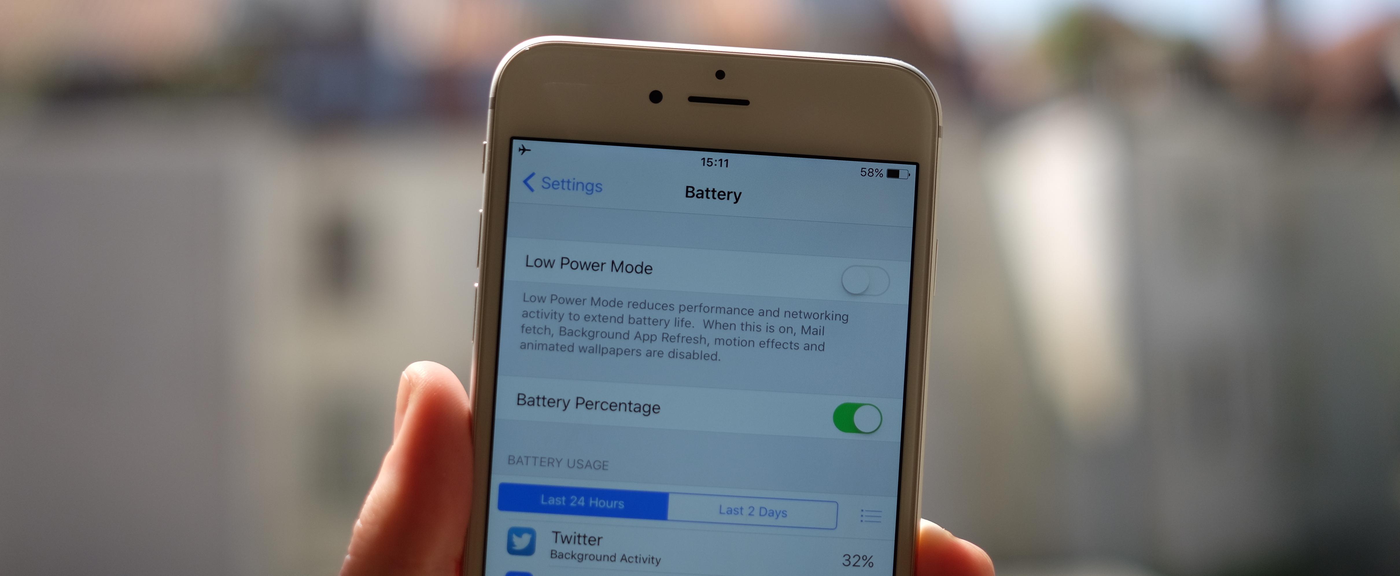 Apple iOS 9 'da Pil Ömrünü Uzatmaya Odaklandı !