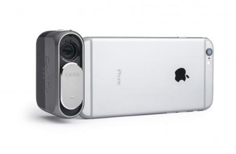 iPhone 'a DSLR Kalitesinde Fotoğraf Çekme Yeteneği Kazandıran Mini Kamera