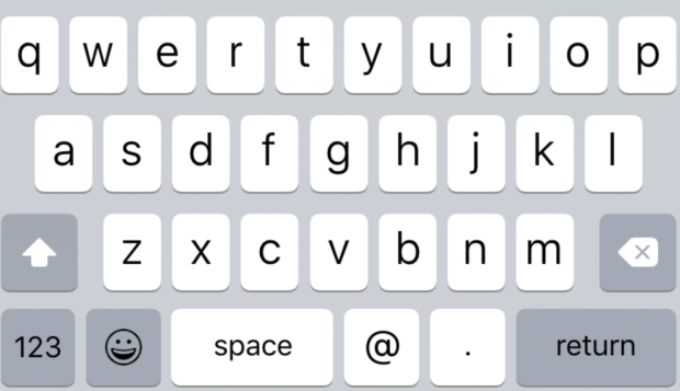 lowercaseKeyboard